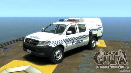Toyota Hilux Australian Police ELS para GTA 4