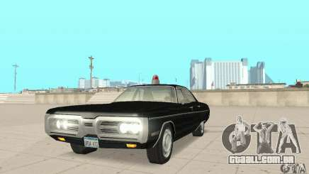 Plymouth Fury III Police para GTA San Andreas