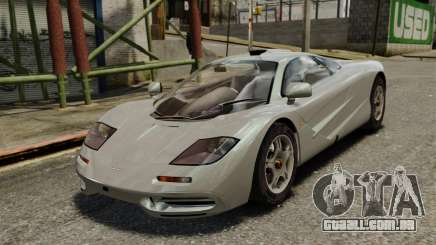 McLaren F1 1995 para GTA 4