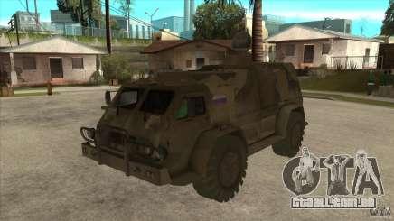 GAZ 39371 Vodnik para GTA San Andreas