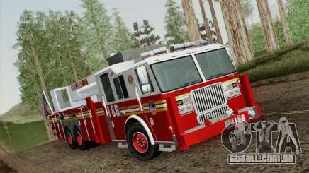 Seagrave Marauder. F.D.N.Y. Tower Ladder 186 para GTA San Andreas