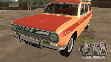 GAZ-24 Volga AEROFLOT 02 para GTA San Andreas