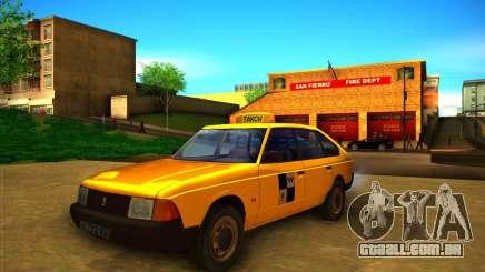 Táxi do AZLK 2141 para GTA San Andreas