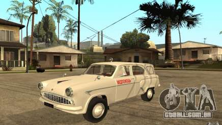 Moskvitch 423 m ambulância para GTA San Andreas