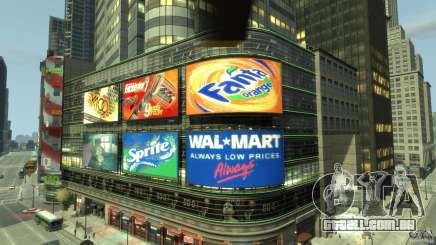 Real Time Square mod para GTA 4
