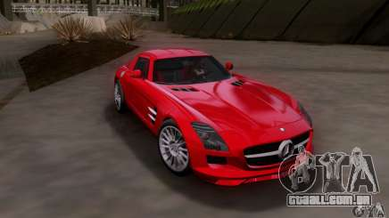 Mercedes-Benz SLS AMG V12 TT Black Revel para GTA San Andreas