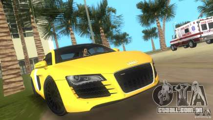 Audi R8 V10 TT Black Revel para GTA Vice City