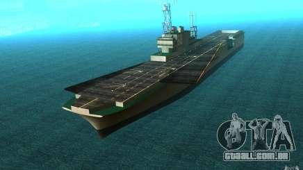 New Aircraft carrier para GTA San Andreas