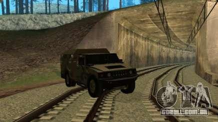 Hummer H2 Army para GTA San Andreas