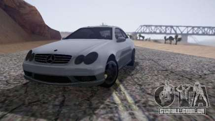 Mercedes-Benz CLK para GTA San Andreas