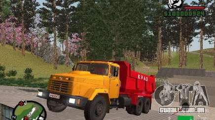 KrAZ 65055 caminhão para GTA San Andreas