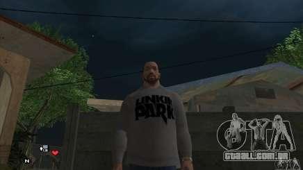Beta v 0.1 de camisola Linkin Park para GTA San Andreas