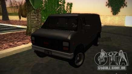 GMC Vandura para GTA San Andreas