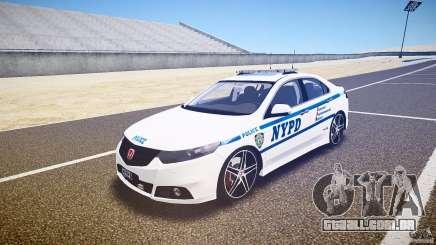 Honda Accord Type R NYPD (City Patrol 1090) ELS para GTA 4