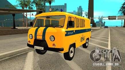Policiais de 2206 UAZ para GTA San Andreas