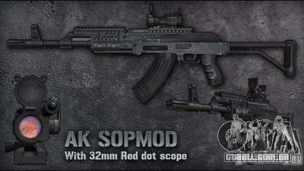 [Point Blank] AK SOPMOD para GTA San Andreas