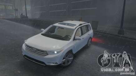 Toyota Highlander 2012 v2.0 para GTA 4