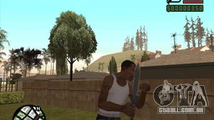 Gladius Knife para GTA San Andreas