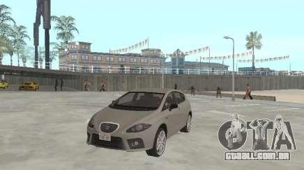 Seat Leon Cupra prata para GTA San Andreas