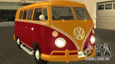 Volkswagen Transporter T1 Camper para GTA San Andreas