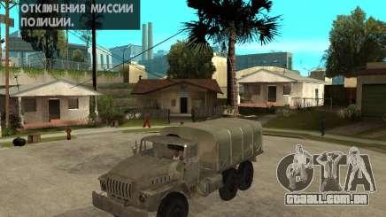 Ural-4230 para GTA San Andreas