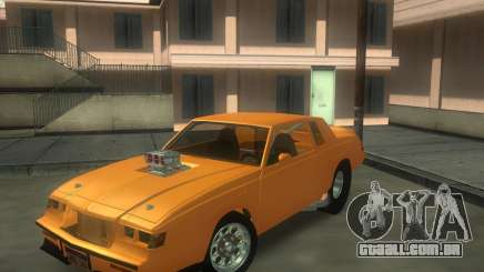 Buick GNX pro stock para GTA San Andreas