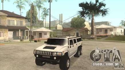 Hummer H6 para GTA San Andreas