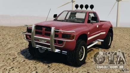 Dodge Ram 2500 Army 1994 v1.1 para GTA 4