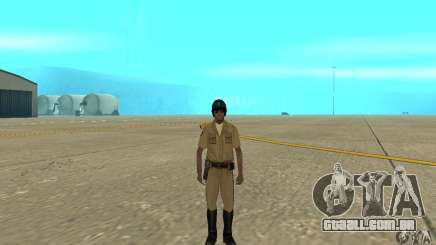 New uniform cops on bike para GTA San Andreas