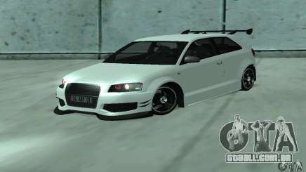 Audi S3 Full tunable para GTA San Andreas