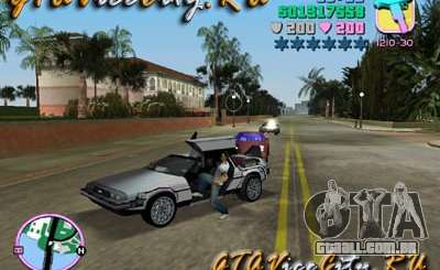 De Lorean para GTA Vice City