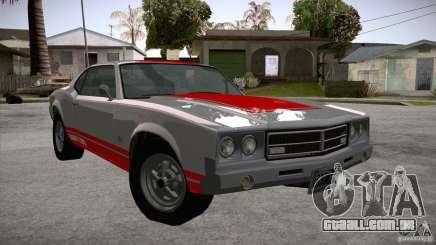 Sabre GT From GTA IV para GTA San Andreas