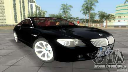 BMW 645Ci para GTA Vice City