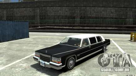 Cadillac Fleetwood Limousine 1985 [Final] para GTA 4