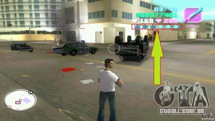 Wanted Level = 0 para GTA Vice City