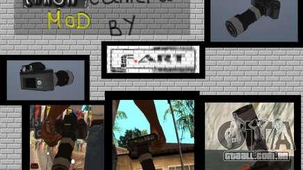Câmera CANON para GTA San Andreas