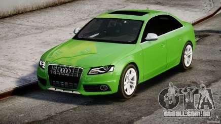 Audi S4 2010 v1.0 para GTA 4