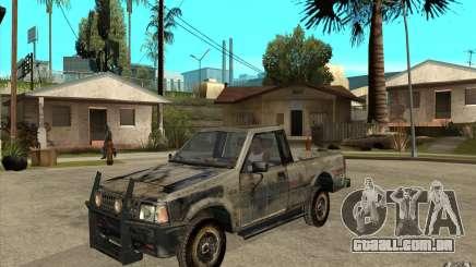 Rusty Mazda Pickup para GTA San Andreas