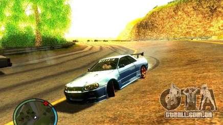 Nissan Skyline B324R para GTA San Andreas