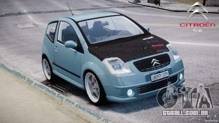 Citroen C2 Light Tuning [Beta] para GTA 4