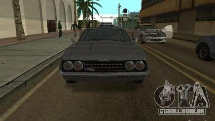 Sabre do GTA 4 coupé para GTA San Andreas