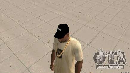 Negro de boné Umbro para GTA San Andreas