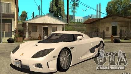 Koenigsegg CCX - Stock para GTA San Andreas