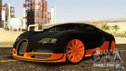 Bugatti Veyron SuperSport para GTA San Andreas