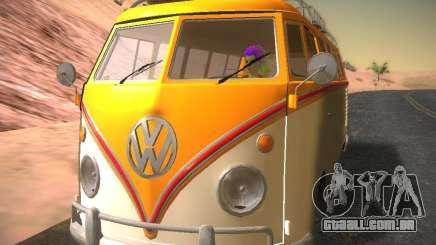 Volkswagen Type 2 Custom para GTA San Andreas