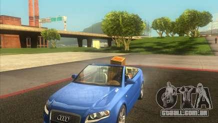Audi A4 Convertible 2005 para GTA San Andreas