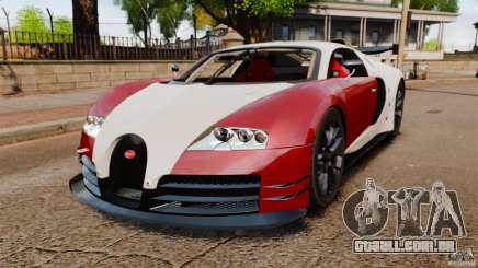 Bugatti Veyron 16.4 Body Kit Final Stock para GTA 4