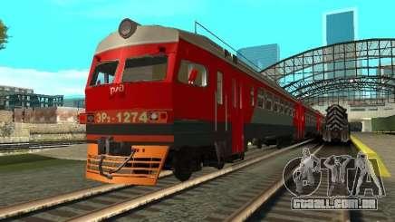 ER2 1274 RZD para GTA San Andreas