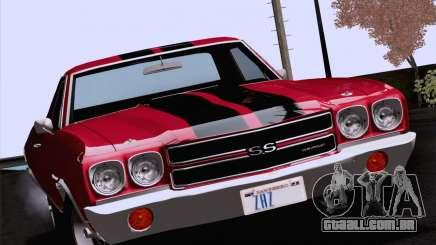 Chevrolet El Camino SS 70 Fixed Version para GTA San Andreas