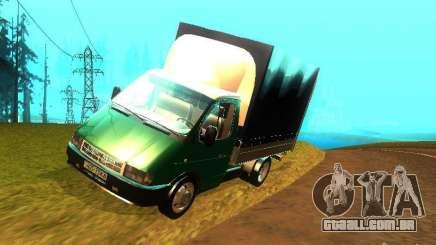 Gazela 33021 para GTA San Andreas
